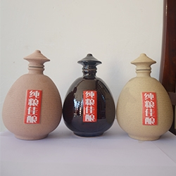 贵州普通陶瓷酒瓶