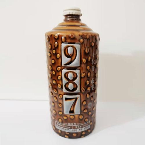 987陶瓷酒瓶定制